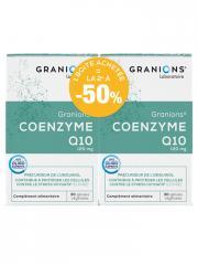 Granions Coenzyme Q10 120 mg Lot de 2 x 30 Gélules - Lot 2 x 30 Gélules