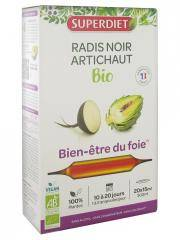 Super Diet Radis Noir - Artichaut Bio 20 Ampoules - Boîte 20 ampoules de 15 ml