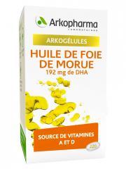 Arkopharma Arkogélules Huile de Foie de Morue 220 Gélules - Pot 220 gélules