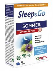 Ortis Sleep & Go Sommeil Action Rapide 30 Comprimés - Boîte 30 comprimés