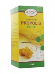 Redon Extrait Liquide Propolis Verte Sans Alcool 50 ml - Boîte 50 ml