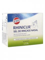 Rhinicur Sel de Rinçage Nasal 20 sachets - Boîte 20 Sachets de 2,5 g