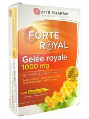 Forté Pharma Gelée Royale 1000 mg 20 Ampoules - Boîte 20 ampoules de 10 ml