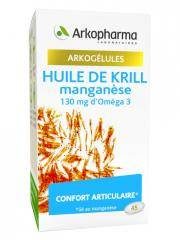 Arkopharma Arkogélules Huile de Krill Manganèse 45 Capsules - Boîte 45 Capsules