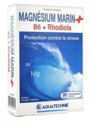 Biotechnie Magnésium Marin B6 Rhodiola 30 Gélules - Boîte 30 gélules