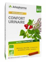 Arkopharma Arkofluides Confort Urinaire Bio 20 Ampoules - Boîte 20 ampoules de 10 ml