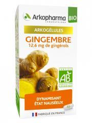 Arkopharma Arkogélules Gingembre Bio 40 Gélules - Boîte 40 gélules