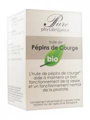 Phytalessence Pure Pépins de Courge Bio 60 Capsules - Pot 60 capsules