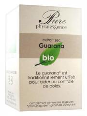 Phytalessence Pure Guarana Bio 60 Gélules - Pot 60 gélules