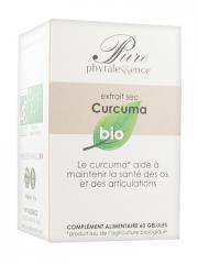 Phytalessence Pure Curcuma Bio 60 Gélules - Pot 60 gélules