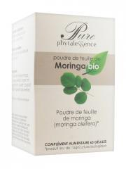 Phytalessence Pure Moringa Bio 60 Gélules - Pot 60 gélules