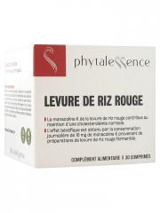 Phytalessence Levure de Riz Rouge 30 Comprimés - Pot 30 comprimés