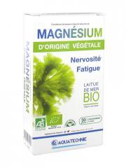 Biotechnie Magnésium d'Origine Végétale Laitue de Mer BIO 30 Gélules - Boîte 30 gélules