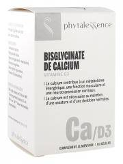 Phytalessence Calcium Vitamine D3 60 Gélules - Pot 60 gélules