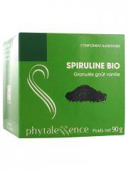 Phytalessence Spiruline Bio Granulés Goût Vanille 90 g - Pot 90 g
