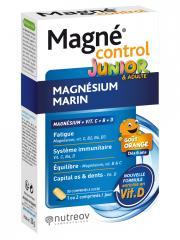 Nutreov Magné Control Junior & Adultes 30 Comprimés à Croquer - Boîte 30 comprimés