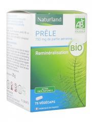 Naturland Prêle Bio 75 Végécaps - Boîte 75 végécaps
