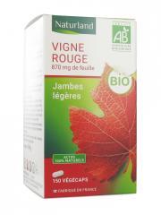 Naturland Vigne Rouge Bio 150 Végécaps - Pot 150 végécaps