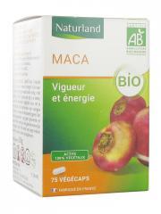 Naturland Maca Bio 75 Végécaps - Pot 75 gélules