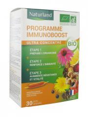 Naturland Programme Immunoboost Bio 30 Ampoules - Boîte 30 ampoules de 10 ml