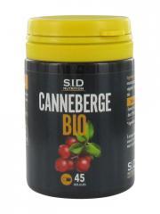S.I.D Nutrition Canneberge Bio 45 Gélules - Pot 45 gélules