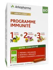 Arkopharma Arkofluides Programme Immunité Bio 30 Ampoules - Boîte 30 ampoules de 10 ml