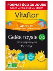 Vitaflor Gelée Royale 1500 mg Bio 30 Ampoules - Boîte 30 ampoules
