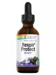 Solaray Respir' Protect Sirop 59 ml - Flacon compte goutte 59 ml