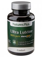 Natures Plus Ultra Lutéine 100% Pure 60 Capsules - Flacon 60 capsules