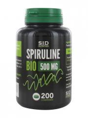 S.I.D Nutrition Spiruline Bio 500 mg 200 Comprimés - Pot 200 comprimés