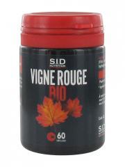 S.I.D Nutrition Vigne Rouge Bio 60 Gélules - Pot 60 gélules