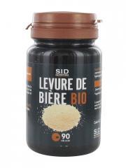 S.I.D Nutrition Levure de Bière Bio 90 Gélules - Pot 90 gélules