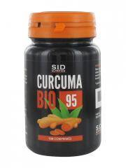 S.I.D Nutrition Curcuma Bio 95 120 Comprimés - Pot 120 comprimés