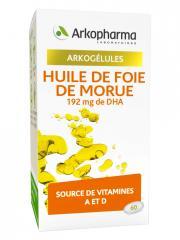 Arkopharma Arkogélules Huile de Foie de Morue 60 Gélules - Boîte 60 gélules