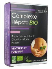 Nutrivie Complexe Hépato Bio 30 Comprimés - Boîte 30 comprimés