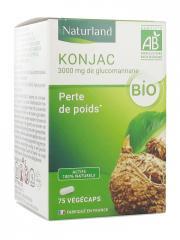 Naturland Konjac Bio 75 Végécaps - Pot 75 végécaps