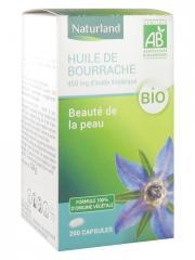Naturland Huile de Bourrache Bio 200 Capsules - Pot 200 capsules