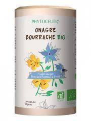 Phytoceutic Onagre Bourrache Bio 120 Capsules - Boîte distributrice 120 Capsules