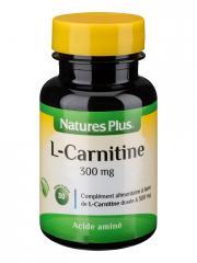 Natures Plus L-Carnitine 300 mg 30 Gélules - Pot 30 gélules