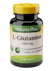 Natures Plus L-Glutamine 500 mg 60 Gélules Végétales - Pot 60 gélules