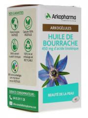 Arkopharma Arkogélules Huile de Bourrache Bio 60 Capsules - Pot 60 capsules