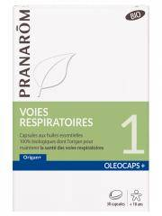 Pranarôm Oléocaps+ 1 Voies Respiratoires Bio 30 Capsules - Boîte 30 Capsules