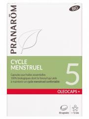 Pranarôm Oléocaps+ 5 Cycle Menstruel Bio 30 Capsules - Boîte 30 Capsules