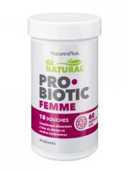 Natures Plus Gi Natural Probiotic Femme 30 Gélules - Pot 30 gélules