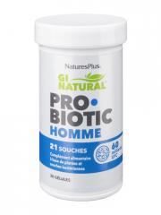 Natures Plus Gi Natural Probiotic Homme 30 Gélules - Pot 30 gélules