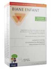 Pileje Biane Enfant Vitamines et Minéraux 20 Sachets - Boîte 20 sachets