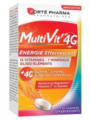 Forté Pharma MultiVit'4G Energie 30 Comprimés Effervescents - Boîte 30 Comprimés Effervescents