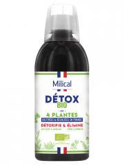 Milical Détox Bio Aux 4 Plantes 500 ml - Bouteille 500 ml