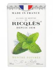 Ricqlès Alcool de Menthe Poivrée 30 ml - Flacon 30 ml