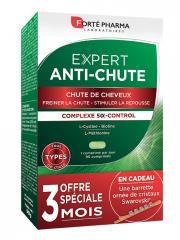Forté Pharma Expert Anti-Chute 90 Comprimés + Barrette Swarovski Offerte - Boîte 90 comprimés + 1 barrette